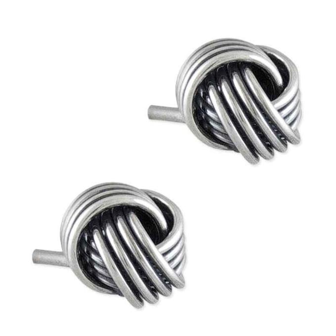 f1f661611 Silver Ashanti Friendship Knot Earrings | Gold & Silver Earrings ...