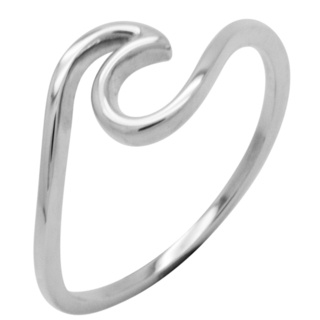 925 Silver Wave Ring