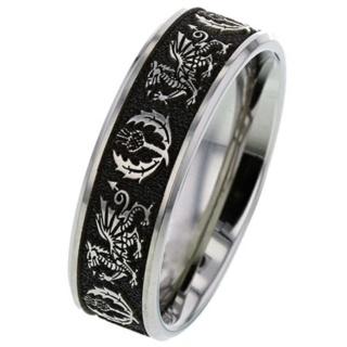 Dragon Titanium Ring