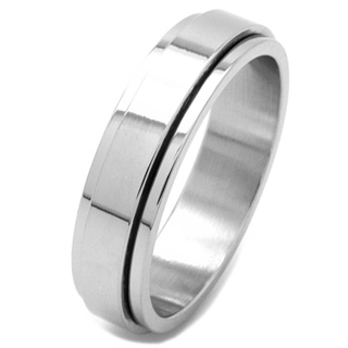 Stainless Steel Spinner Ring