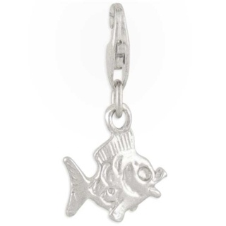 Fish Silver Charm