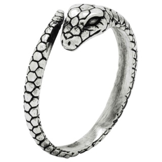 925 Silver Snake Ring