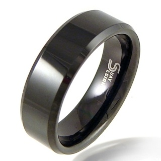 Recon Black Tungsten Ring