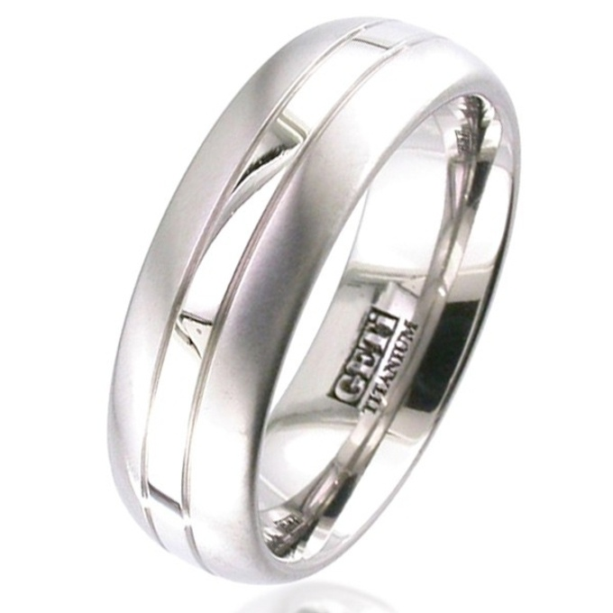 palladium titanium wedding ring titanium rings suay