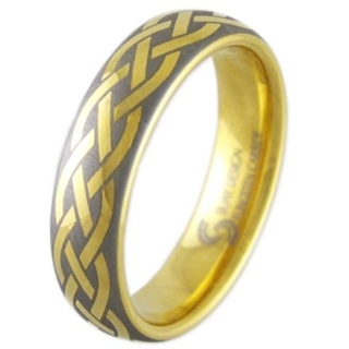 Mercury Celtic Tungsten Ring