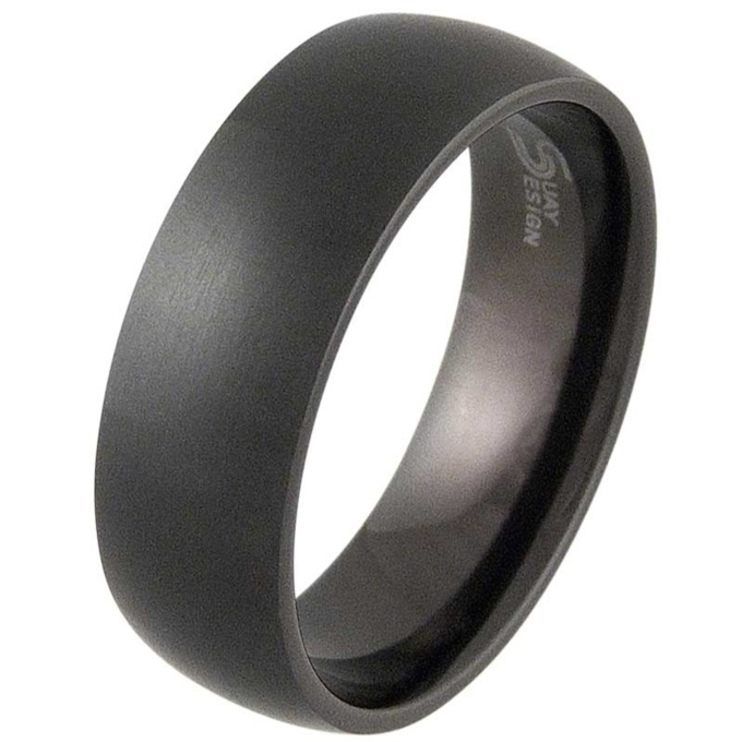 rings wedding on best images jewellery titanium breanleen pinterest black bands mens for him
