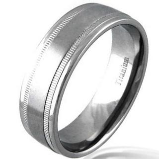 Charge Titanium Ring