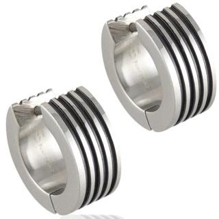 Track Steel Earrings