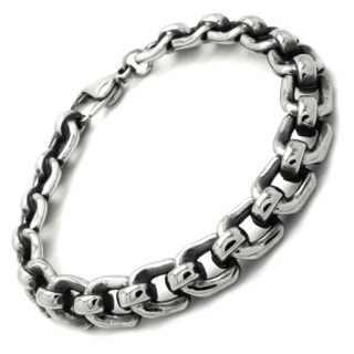 Stainless Steel Rectangular Bracelet