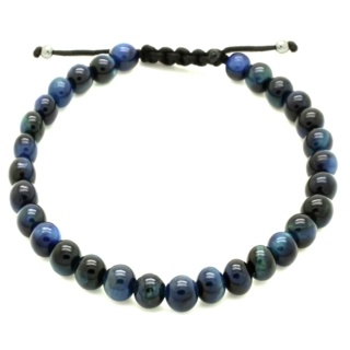 Lapis Blue Tigers Eye Bracelet