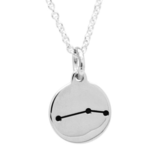 925 Silver Zodiac Aries Constellation Necklace