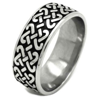 Stainless Steel Celtic Ring