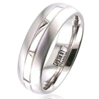 Palladium & Titanium Wedding Ring
