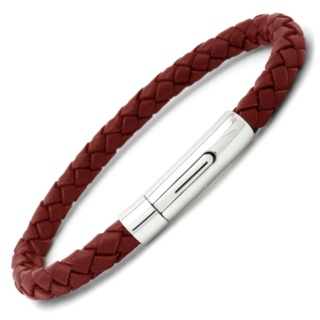 Arizona Red Leather Bracelet