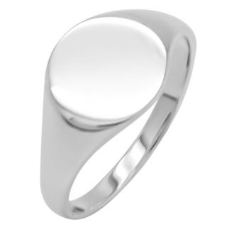 925 Silver Signet Ring