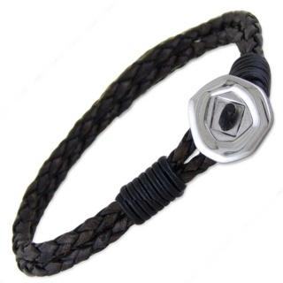 Orlando VS2 Brown Leather Bracelet