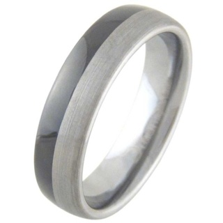 Alter Ego Mens Tungsten Ring