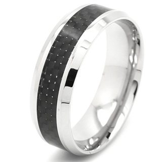 Flat Profile Steel Carbon Fibre Ring