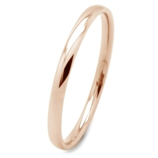 Compliment Rose Gold steel Ring