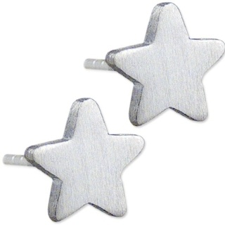 Mini Satin Star Earrings