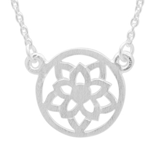 Silver Crown Chakra Necklace