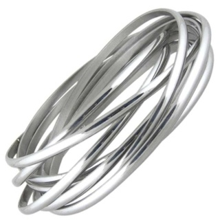 Merge Steel Bangle