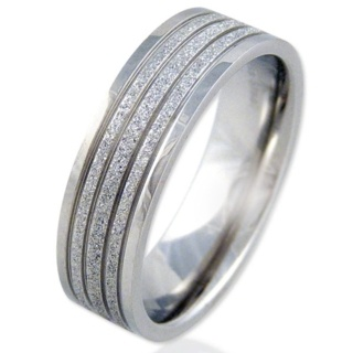 Radiate Steel Ring
