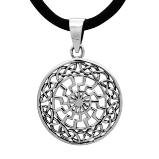 925 Silver Pendant with a Celtic Design