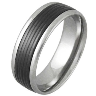 Tribute Titanium Ring