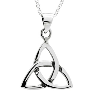 925 Silver Trinity Knot Necklace