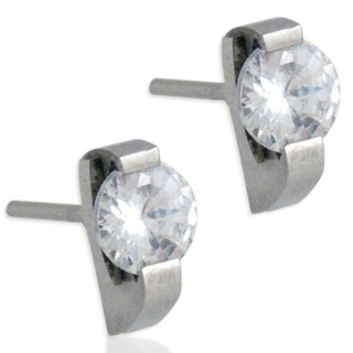 Capture Steel Earrings