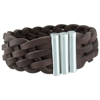 Hawaii Brown Leather Bracelet
