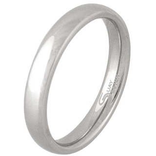 Smooth 4mm Stainless Steel Ring