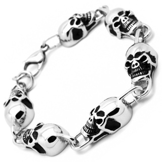 Stainless Steel Skull VS3 Bracelet