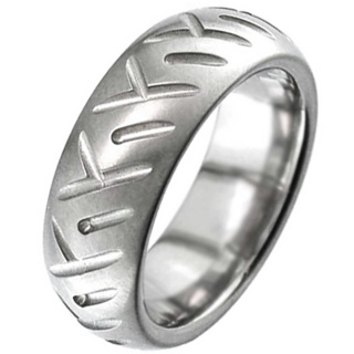Titanium Tyre Tread Ring