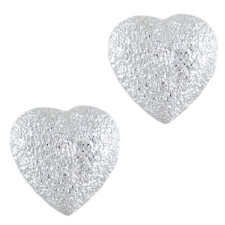 Silver Endear Sparkly Earrings