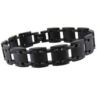 Pure Jet Stainless Steel Bracelet