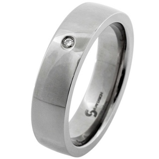 Legacy Diamond Titanium Ring