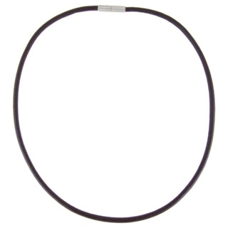 Brown Leather Necklace 4mm