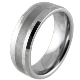 Valour 8 Tungsten Ring