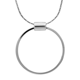 925 Silver Circle Necklace