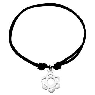 Adjustable Silver Sacral Chakra Bracelet