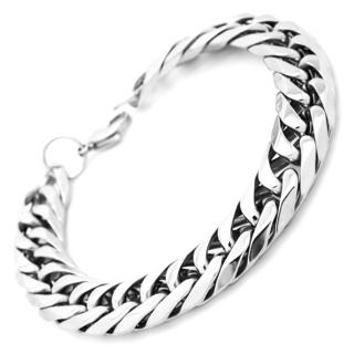 Chunky Stainless Steel Link Bracelet