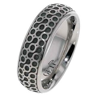 Titanium Celtic Wedding Ring