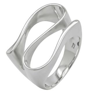 925 Silver Swirl Ring