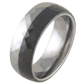 Divine Ceramic & Tungsten Ring
