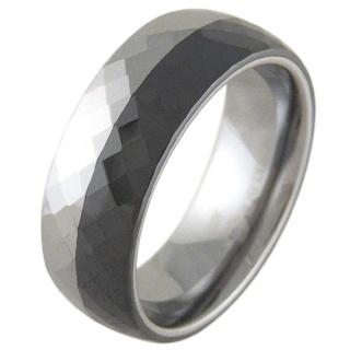 Divine Ceramic & Tungsten Ring