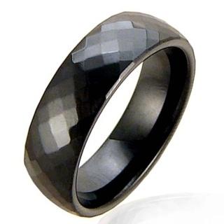 Divine Noire Tungsten Ring