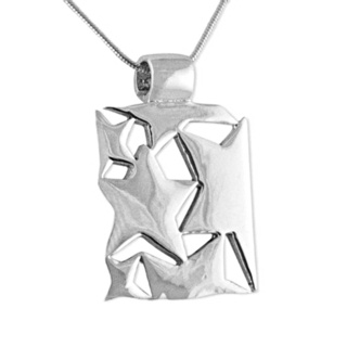 Mira Silver Star Necklace