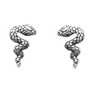 925 Silver Snake Earrings